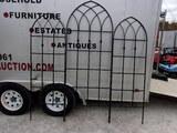 3pc Iron Trellis Set