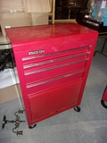 Stack-On 4 Drawer w/ Door on Bottom Rolling Tool Box