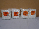 (4) 1000 Count Bags of Universal Rifle/Pistol Cleaning Patches
