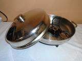 Stainless Steel Farberware Electric Skillet
