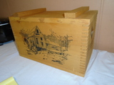 Dovetailed Wooden Storage Box