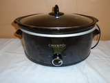 Large Oval Crockpot w/ Lift Out Liner
