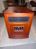 Woodcase Quartz Infared Heater w/ Remote