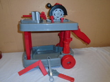 Child's Rolling Workbench w/ Tools