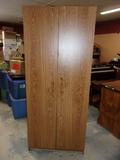 Double Door Utility Cabinet w/ 6 Shelves