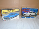 1966 Chevelle & 1970 Firebird Model Kits
