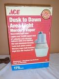 Ace Dusk to Dawn Mercury Vapor Area Light