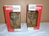 2 Ball Jar Redneck Wine Glasses