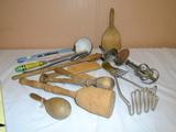 Large Group of Vintage Kitchen Utensils