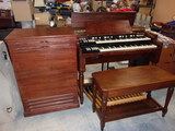 Hammond B3 Organ and Leslie Studio Speaker w/ Bench