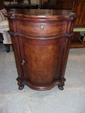 Beautiful Solid Wood Night Stand w/ Drawer and Door w/ Shelf