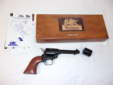 Heritage Rough Rider 22Cal Revolver w/ 22LR and 22Mag Cylinders-Gun Lock-Manuals-Box