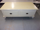 Riverside Furniture 2 Drawer Solid Wood Coffee Table