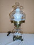 Beautiful Electric Huricane Lamp