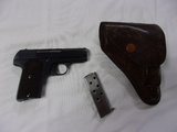 Hope 32Auto Pistol w/ Clip and Leather Holster