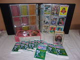 Large Album of Sports Cards- 12 1950 NFL Wax Packs-1993 HOF Basketball Cards and More
