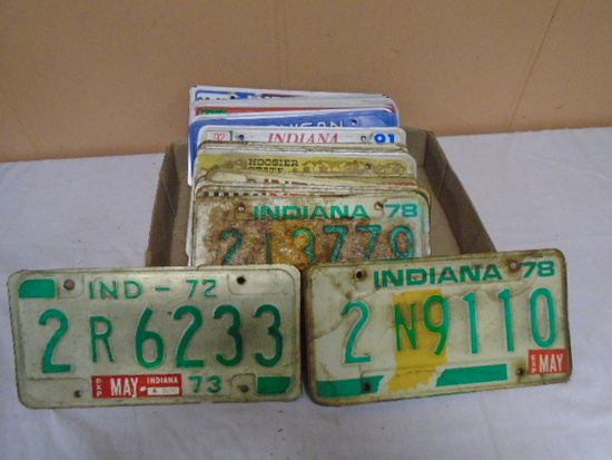 27 License Plates