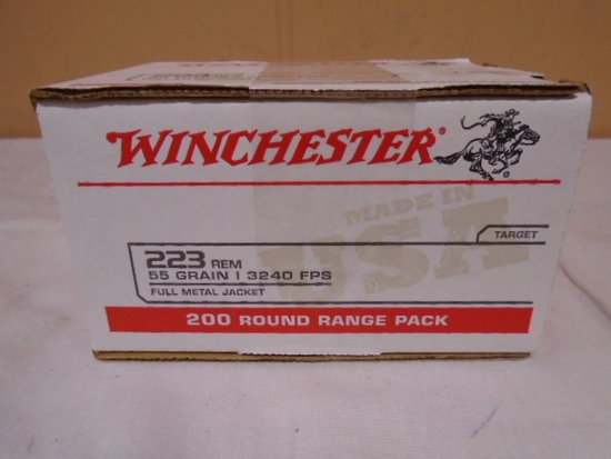 Winchester 200 Round Box of 223 Rem