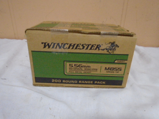 Winchester 200 Round Box of 5.56mm