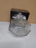 Tuscany Covered Glass Cake Stand