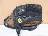 Wilson A500 Leather Adult Baseball Glove