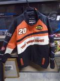 Tony Stewart #20 Home Depot Leather Jacket