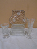 4pc Crystal Group
