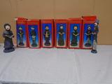 Set of 8 Caroler Statues