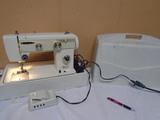 Alco Portable Sewing Machine w/ Case