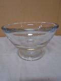 Kronsno (Poland) Glass Pedistal Bowl