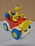 Vintage illco Battery Powered Sesame Street Car