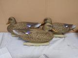 (3) Flambeau Storm Front Duck Decoys