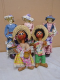 5pc Group of Dolls