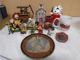 14pc Firefighter Collectibles