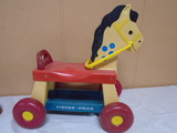 Fisher-Price Rolling Horse Ride-On Toy