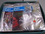 80 Model Railroader Magazines