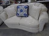White International Furniture Loveseat