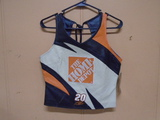 Tony Stewart #20 Home Depot Leather Vest