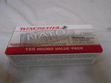 Winchester 150 Round Box of 9mm Nato