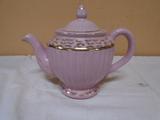 Vintage Pink Gold Trim Tea Pot