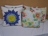 5 Indoor/Outdoor Throw Pillows