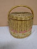 Vintage Basket w/Lid