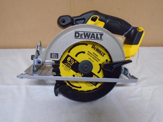 "Brand New Dewalt 20 Volt Max 6 1/2"" Cordless Circular Saw"