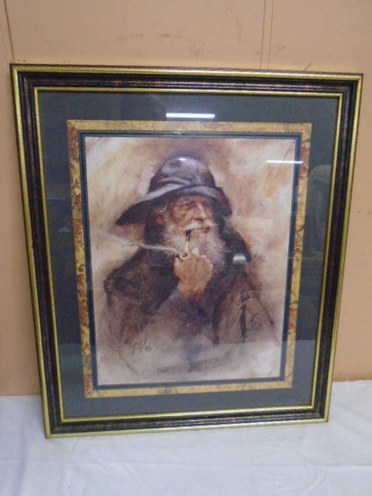 R. Tolan Sailor Framed Print