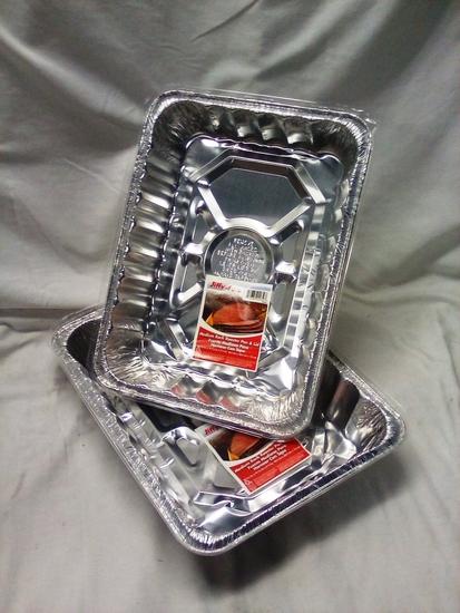 Jiffy Foil Roaster Pans