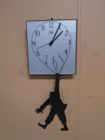 Arti & Mestieri Design Clock-Made in Italy