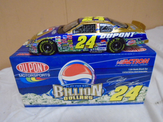 2003 Action 1:24 Scale Jeff Gordon Die Cast Car w/Box