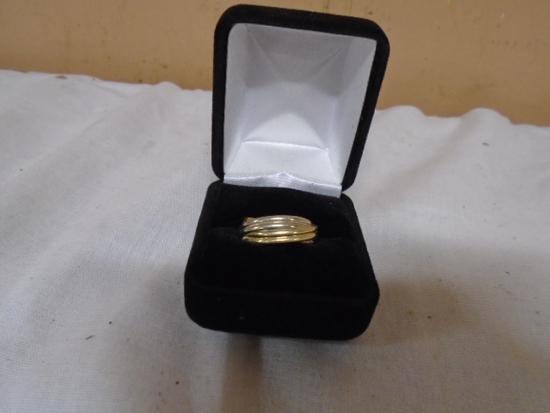 Mans Ring Marked 14kt Gold