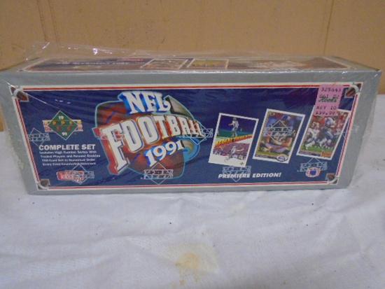Upper Deck 1991 NFL Football Complete Set