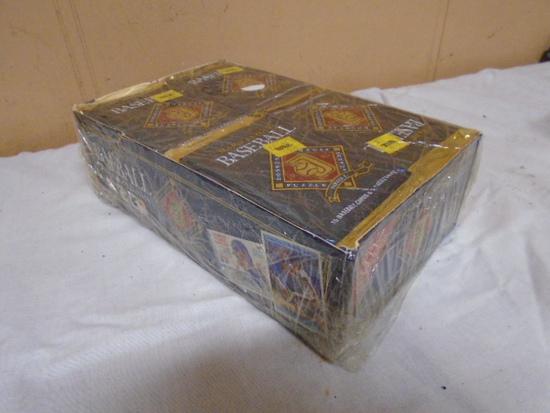 Donruss 1992 Full Box of Unopened Baseball Wax Packs